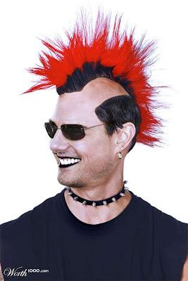 مدل موهای فوق خنده دار افراد مشهور جهان! www.sardarcsp.com