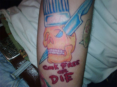 Top 25 Food tattoos