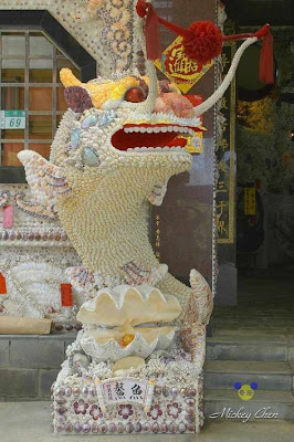Seashell temple in Taiwan