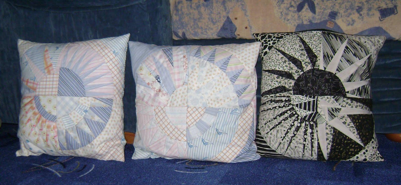 patchwork handarbeit enga s welt nyb kissen. Black Bedroom Furniture Sets. Home Design Ideas