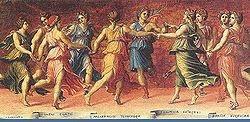 ο Απόλλωνας και οι Μούσες