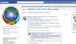 Facebook no a la mina de Paredones Amarrillos