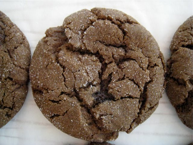 Sweet Boy: Sugar- Topped Molasses Spice Cookies
