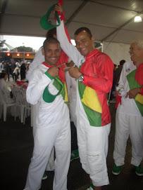 Giovanni Sugar Andrade Campeão Mundial de Boxe e CAFU o maior lateral de todos os tempos futebol.