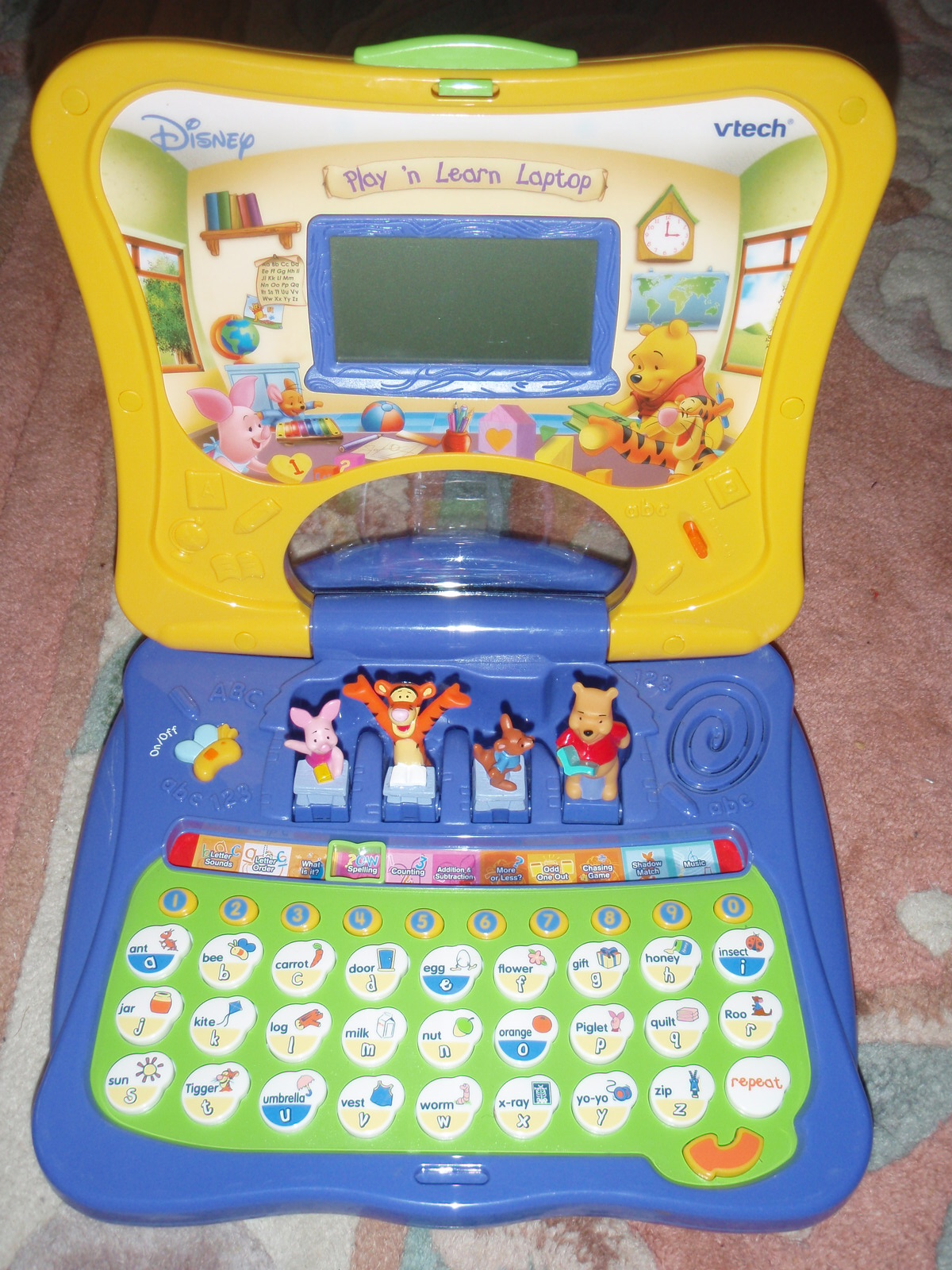 VTech - Winnie the Pooh Play & Learn Laptop - Walmart.com