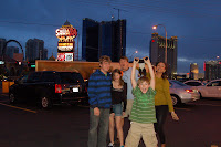 The Pratt`s in Las Vegas, trip back after GC 2010