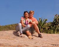Namorando nas pedras do Arpoador - RJ - Brasil