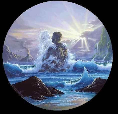 letra como un mar eterno: