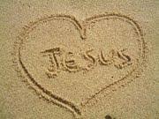 Escrito na areia e no coração!