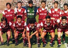 El equipo campeón de la Conmebol 1996
