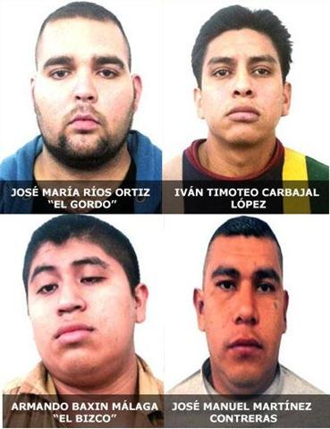 TRAICIONAN  INFORMANTES DE DROGAS, INFILTRADOS, TRAICIONADOS PresuntossecuestradoresdelCarteldelGolfossp11122009