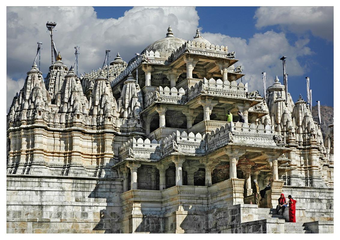 Ranakpur India  City pictures : Templo de Ranakpur, India