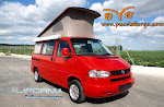 VW CALIFORNIA  ADVANTAGE, 2.5  T.D.I.  AÑO 2000, 102 CV, WESTFALIA