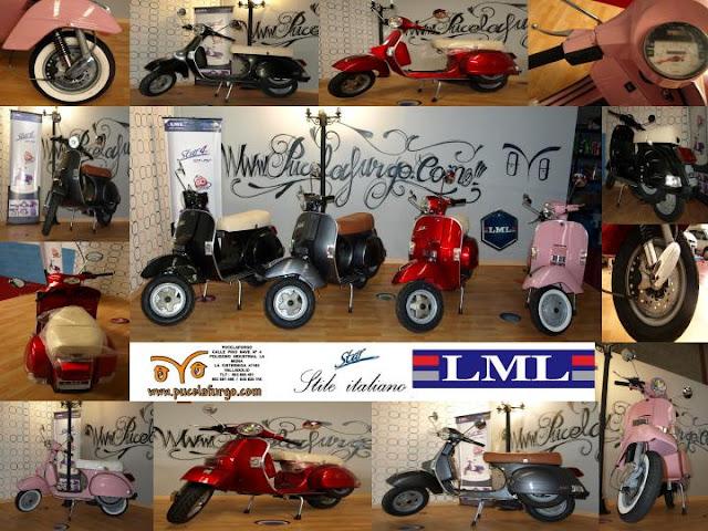 Scooter LML STAR Italia 125 cc 2 TIEMPOS PRECIO 2.200 €