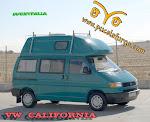 VW  T-4   CALIFORNIA, 2.4 D TECHO  ALTO  RIGIDO  AÑO 91, 78 CV, WESTFALIA
