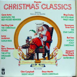 taking a break from the tire companies today with 1977s popular christmas classics from capitol records though i have seen a picture of this album with a