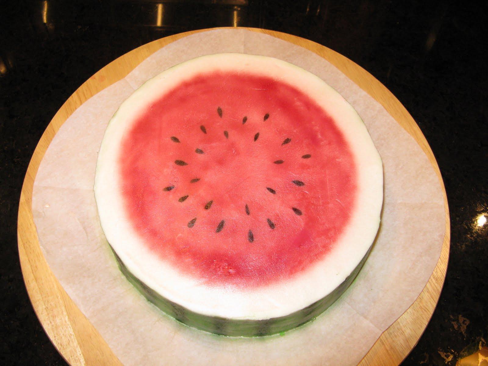 Recette gateau au melon d'eau