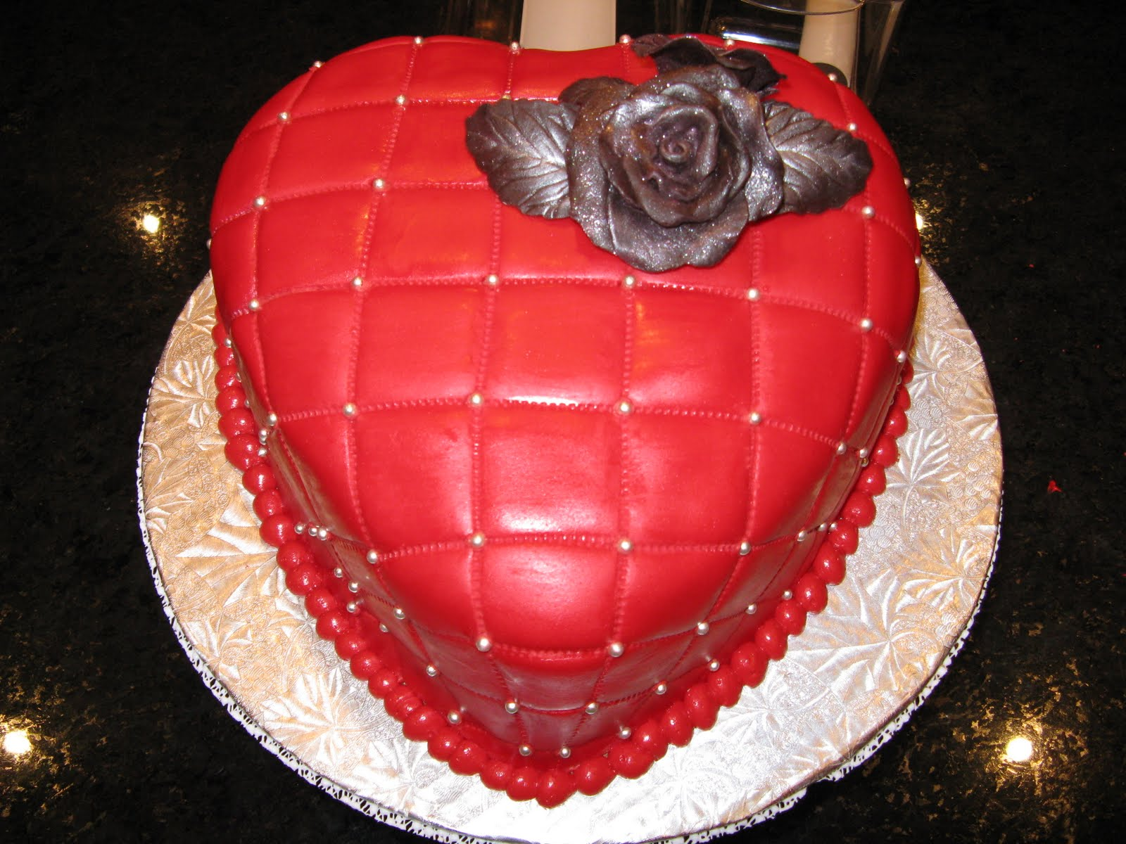 Торт Сердце своими руками - Кулинарния 95