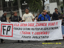 Conmemorando 91 aos de la muerte de Zapata y Protestando por la politica del mal gobierno