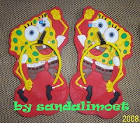 Sandal Imoet Spongebob by sandalimoet