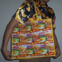 Recycle Bag by Monica Ria