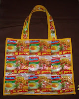 Indomie Recycle Bag by Monica Ria