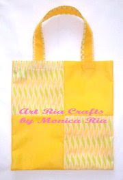 Moplan Goody Bag [Yellow] - Art Ria Crafts by Monica Ria