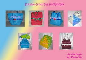 Kenduri Goody Bag  Collection - Art Ria Crafts by Monica Ria