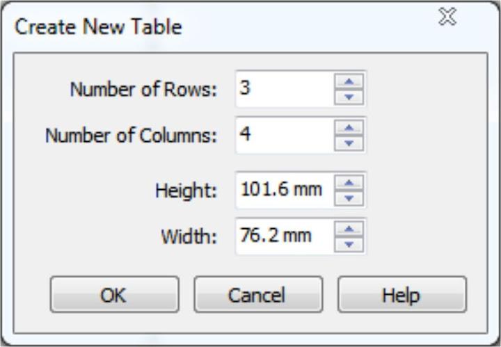 Jadilah tabel yang Anda inginkan. Sangat mudah kan!