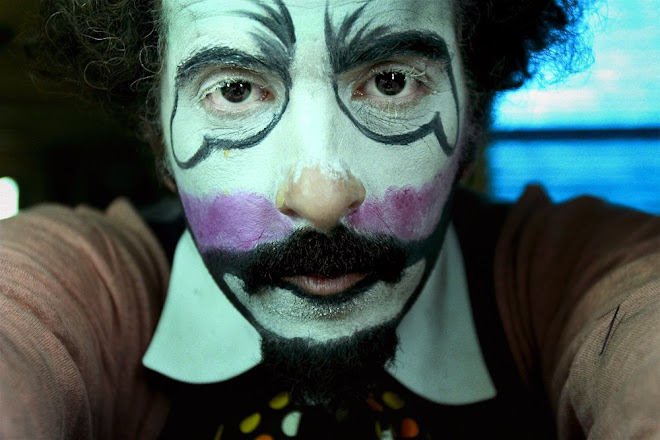 self portrait. clown.