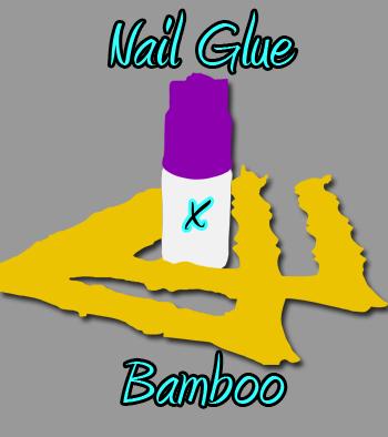 Nail Glue & Bamboo