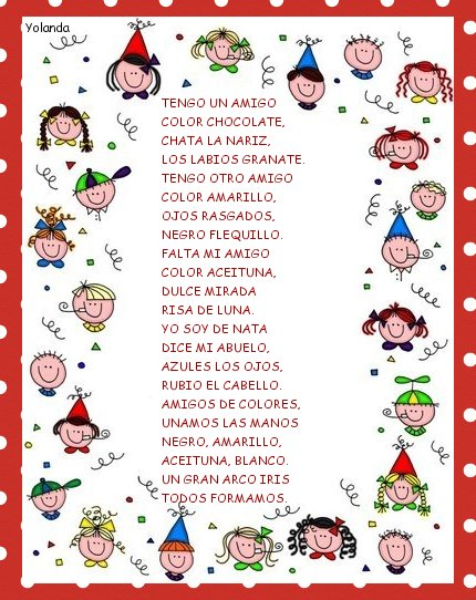 Poemas Para Ninos De Espanol