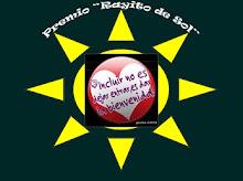 """Premio """"Rayito de Sol""""."""