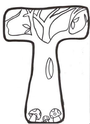 El Blog de Ciro. Actividades de Lápiz y Papel.: Letras Mural de