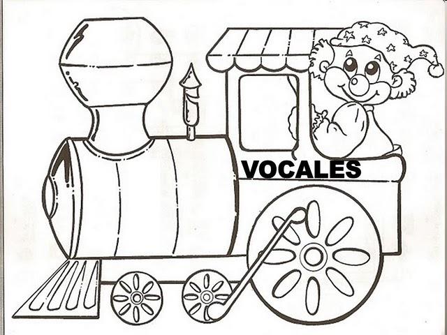 Abecedario Tren Para Colorear Recortar Y Montar | Auto ...