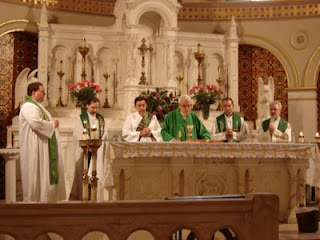 Mass at St. Mary's