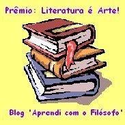 PRÉMIO:LITERATURA É ARTE