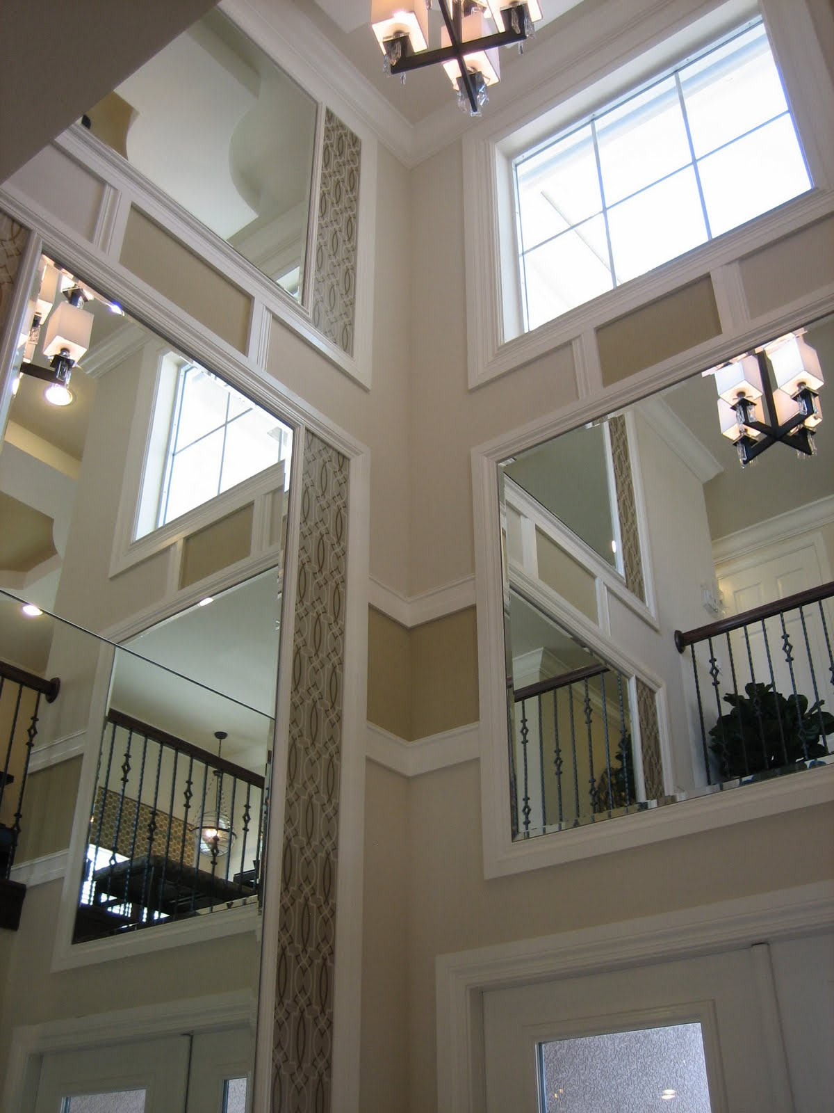 Two Story Foyer Molding : Images about two story sitting living great room on