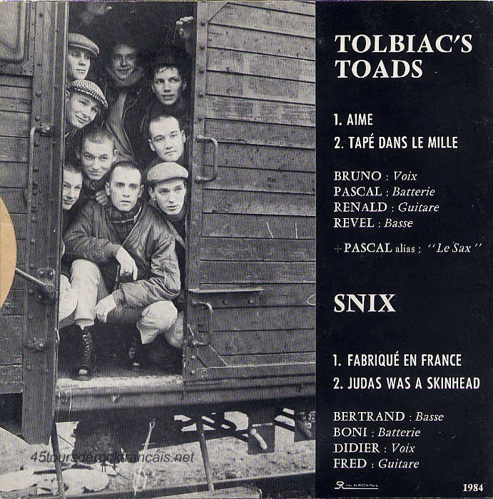 Tolbiac`s Toads & Snix · Descarga. Publicado por Emer en 22:52