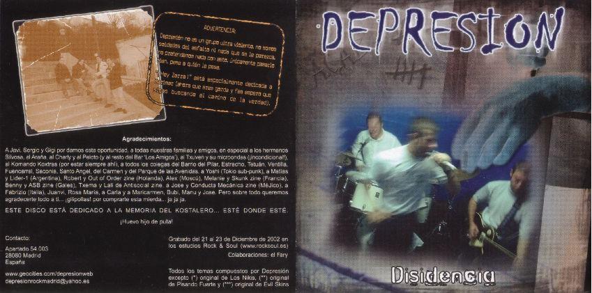 Depresión - Disidencia · Descarga. Publicado por Emer en 14:29