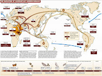 Early Human Migration Maps Lesson Plans & Worksheets