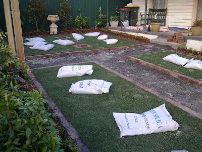 Ascot Vale Garden Transformation Using Artificial Turf