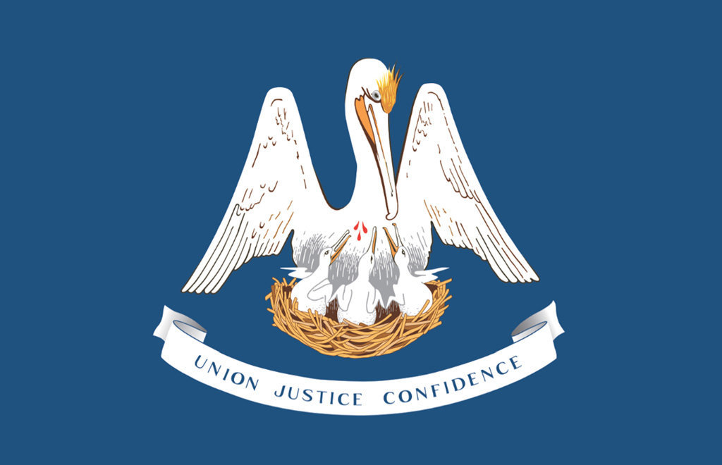 Bandera de Luisiana