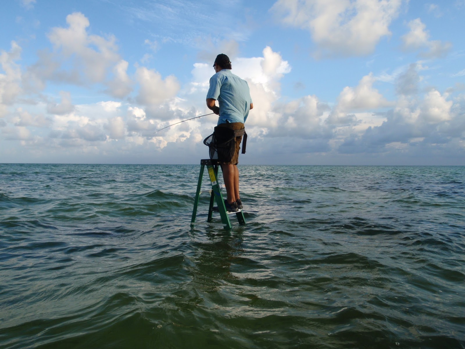 Foot Pursuit Fly Fishing Step Ladder Bonefish
