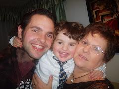 el Toni amb la seva mare
