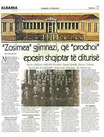 Zosimea gjimnazi grek qe prodhoi urrjetjen antiturke