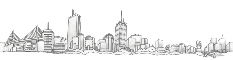 Line Drawing Tattoo London : Official will boston skyline
