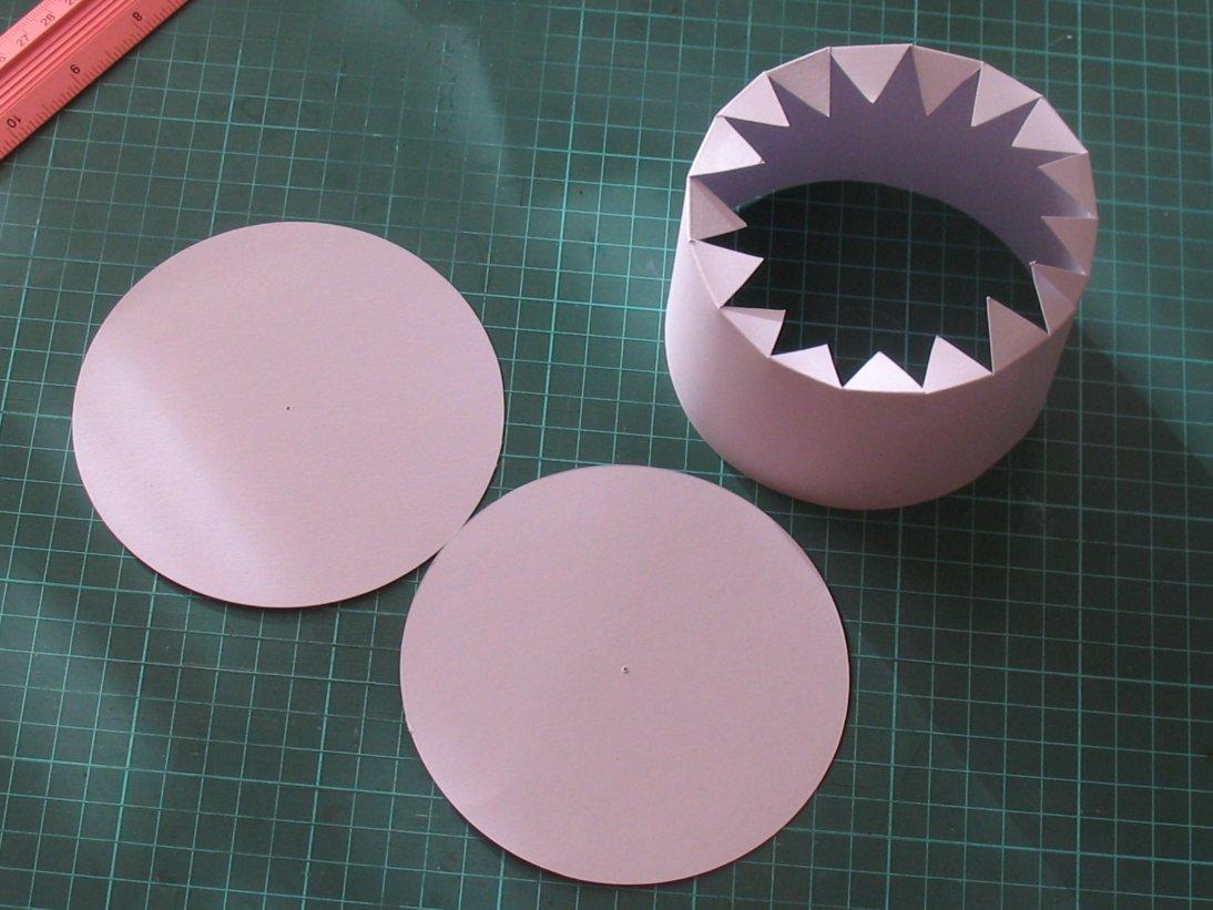Инструкция как сделать круглую коробку