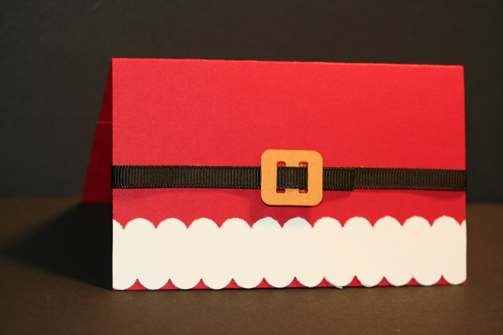 My Creative Corner!: Santa Theme Gift Card Holder