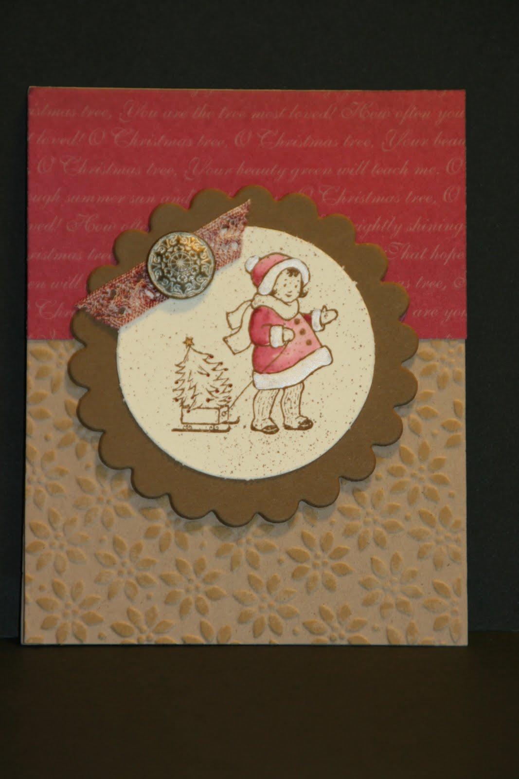 My Creative Corner Greeting Card Kids Christmas Card